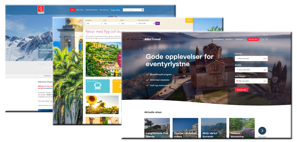 5.6.2019: Quality Travel launches new website